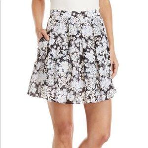 Club Monaco Floral Mini Alledah Skirt NWOT